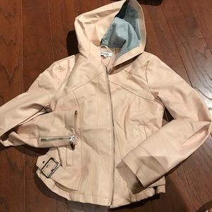 FINAL PRICE: Charlotte Russe Pink Leather Jacket